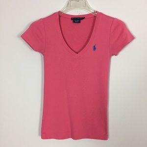 Ralph Lauren Pink Tee Short Sleeves